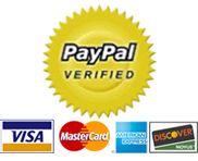 Pay securely with Paypal