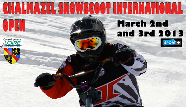 OPEN INTERNATIONAL DE SNOWSCOOT DE CHALMAZEL